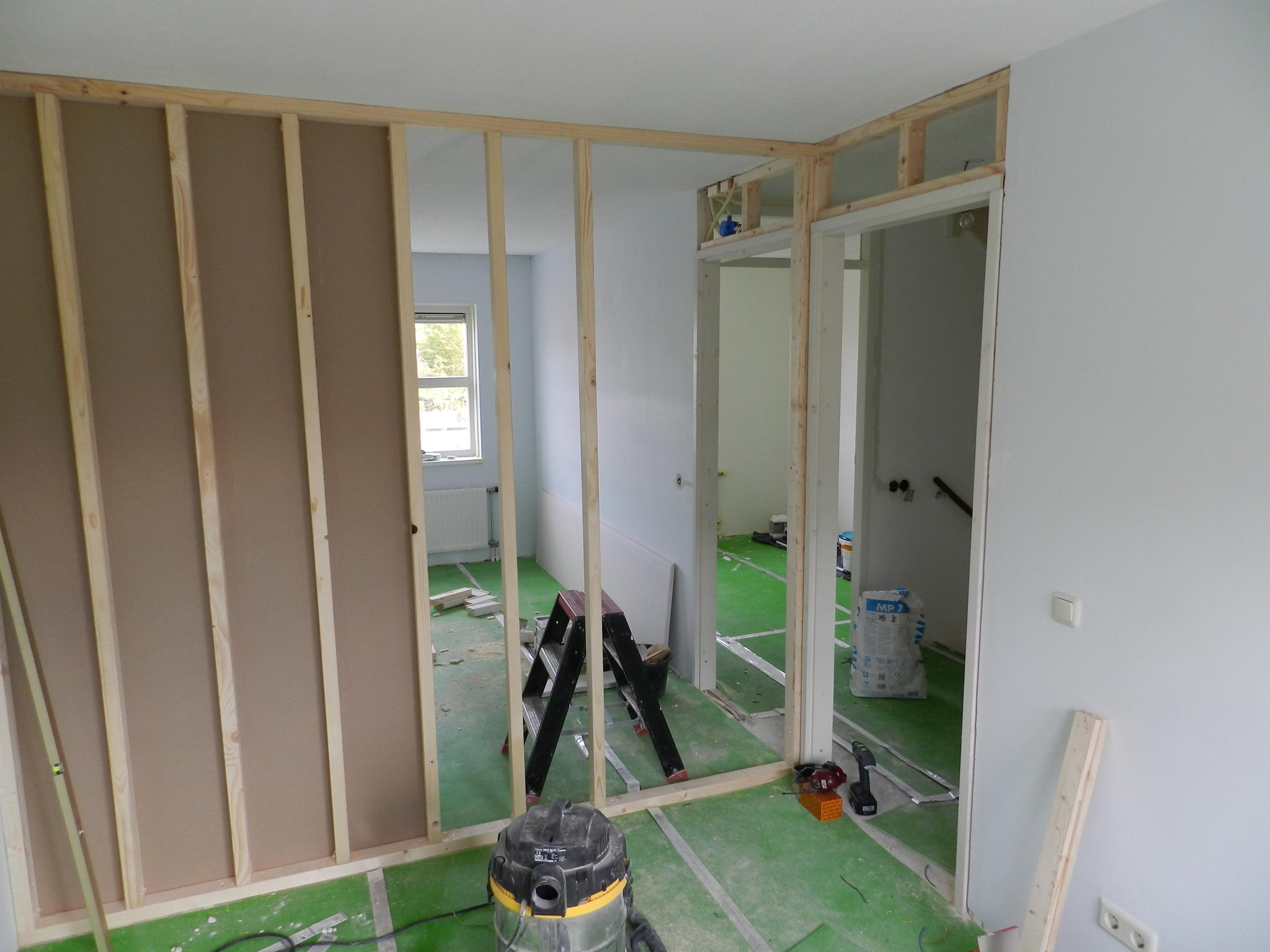 Slaapkamer In Twee Delen : slaapkamer Timmer- en Klusbedrijf Kromhout